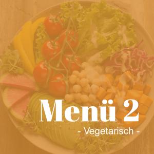 01.11.2021 Montag <br> Gemüse-Maultaschen mitPilzrahmsoße und Salat – Menü 1